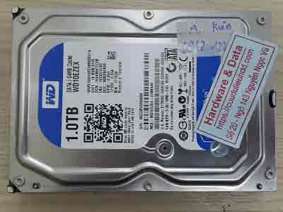 phục hồi dữ liệu ổ cứng Western 500GB ghost nhầm