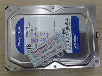 Khôi phục dữ liệu ổ cứng Western 1TB đầu từ lỗi