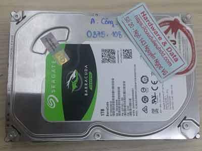 phục hồi dữ liệu ổ cứng Seagate 1TB virus mã hóa