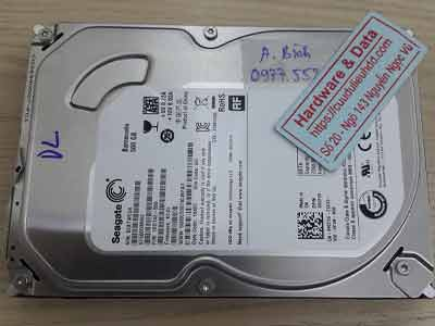 khôi phục dữ liệu ổ cứng Seagate 500GB mất dữ liệu