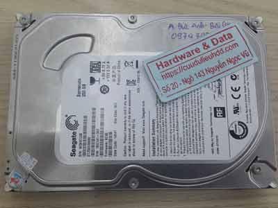 phục hồi dữ liệu ổ cứng Seagate 250GB chết cơ