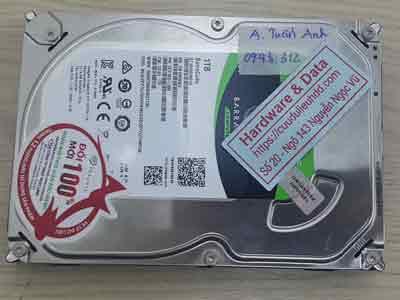 phục hồi dữ liệu ổ cứng Seagate 2TB mất dữ liệu