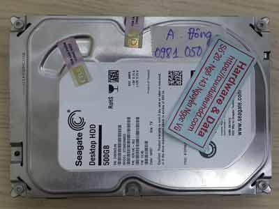 Seagate 5000GB đầu đọc hỏng