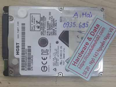 Hitachi-500GB xóa nhầm