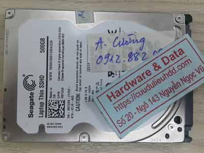 Seagate 500GB chết cơ