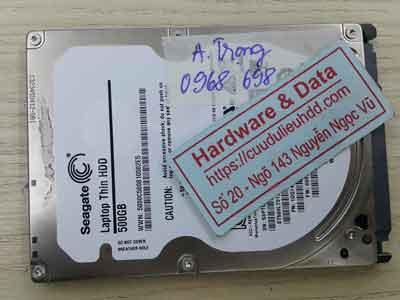 Seagate 500GB đầu đọc lỗi