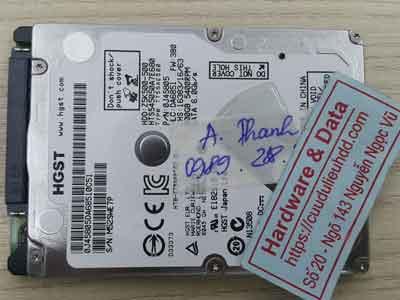 Hitachi 500GB bad nặng