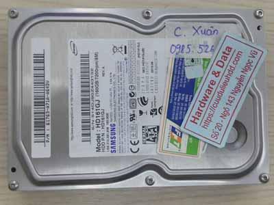 Samsung 160GB virus mã hóa