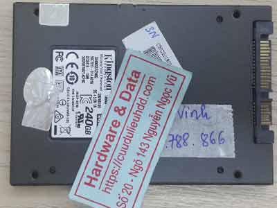 SSD 240GB chip lỗi