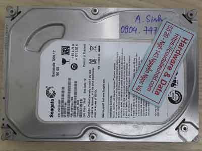 Seagate 160GB đầu từ lỗi