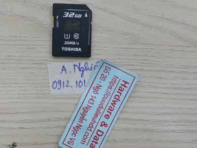the nho 32GB xóa nhầm