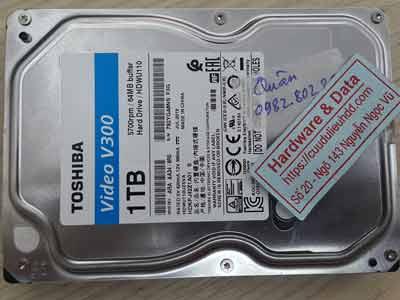 Toshiba 1TB virus mất dữ liệu