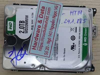 Western 2TB ổ bad nặng
