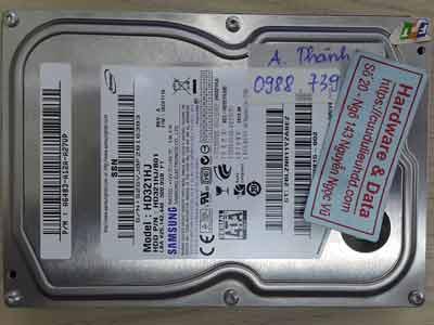 10718-Samsung 320GB lỗi ½ đầu từ,
