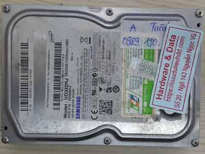Samsung 320GB đầu từ lỗi