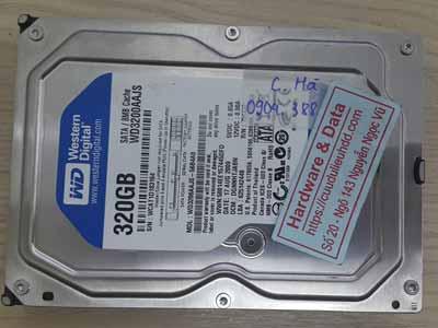 Western 320GB ổ bad