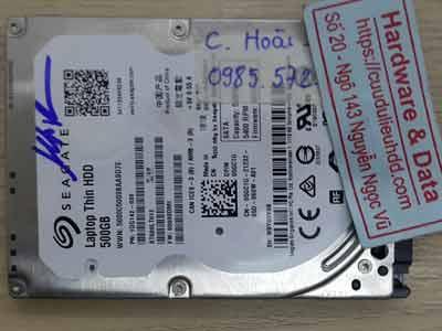 Seagate 500GB đầu từ lỗi