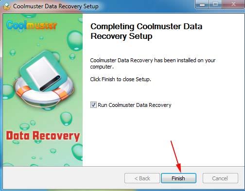 Cài đặt phần mềm cứu dữ liệu USB
