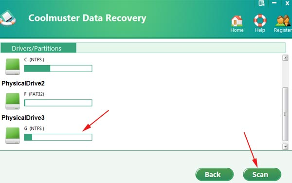 Phần mềm Coolmuster Data Recovery
