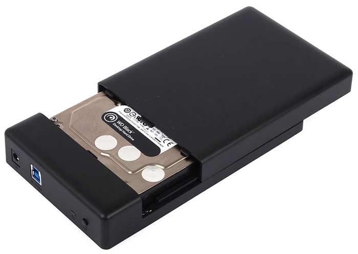 ổ cứng di động Western black