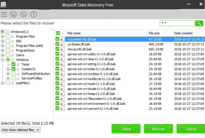 phần mềm cứu dữ liêu ổ cứng