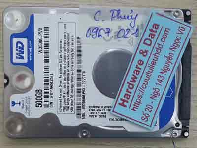 11111-Western-500GB