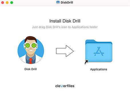 Cài đặt phần mềm disk drill